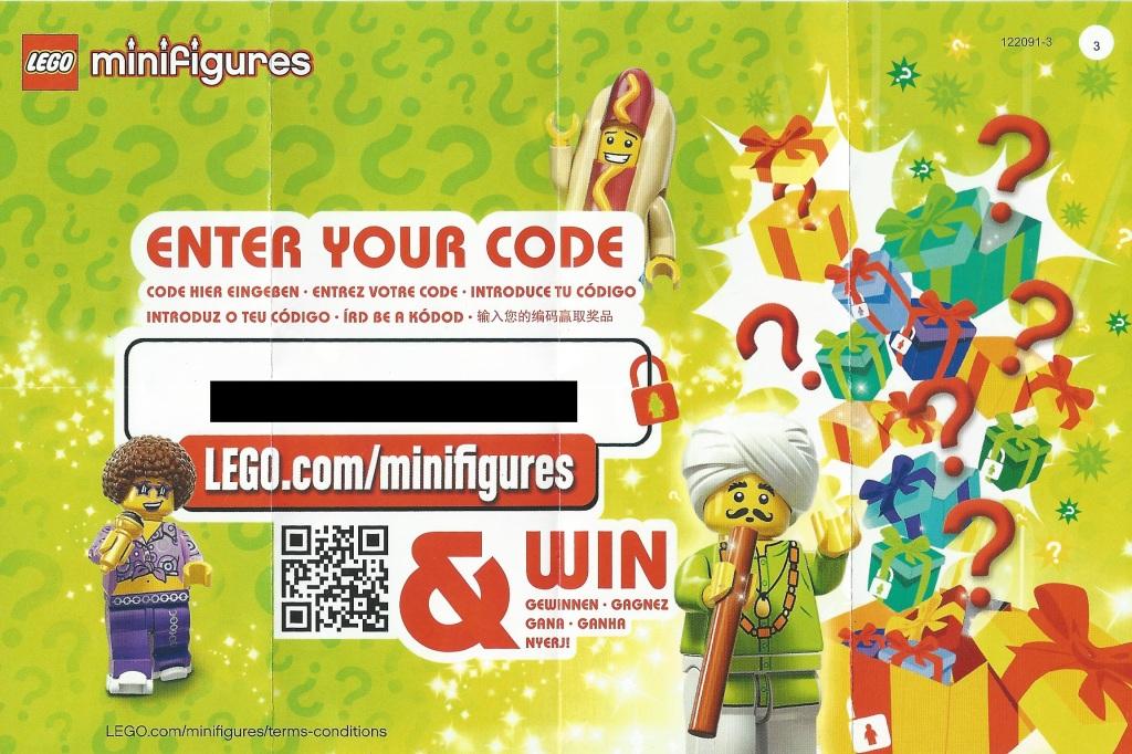 LEGO Minifigures Series 13 Code