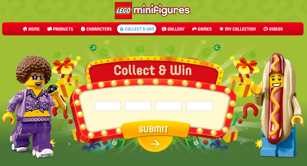 LEGO Minifigures Series 13 Collect and Win