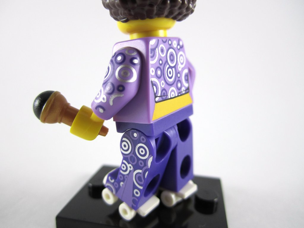 LEGO Minifigures Series 13 - Disco Diva Side Back Print