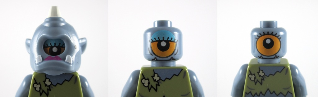 LEGO Minifigures Series 13 - Lady Cyclops Head