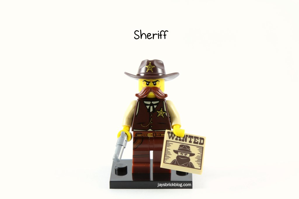 LEGO Minifigures Series 13 - Sheriff (2)