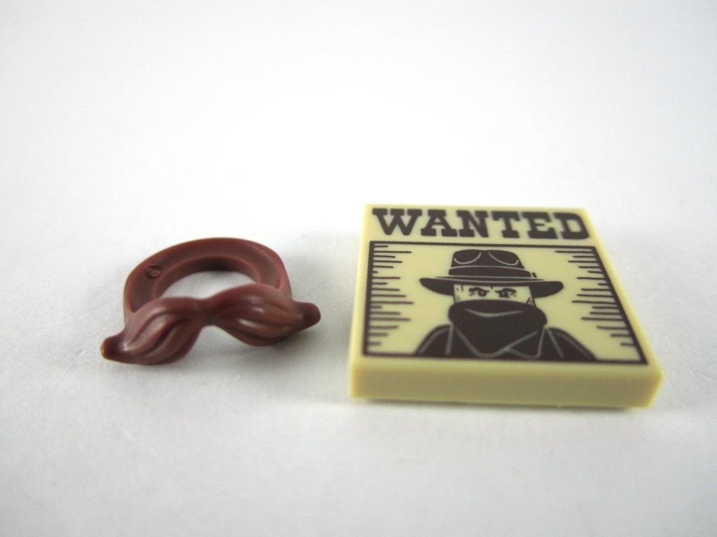 LEGO Minifigures Series 13 - Sheriff Accessories