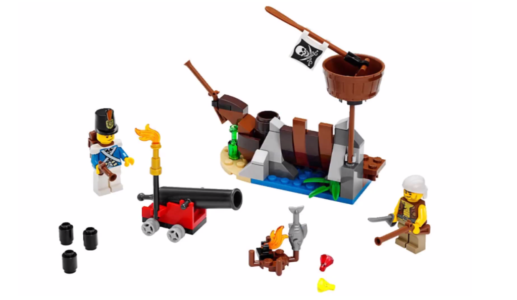 LEGO Pirates 70409 - Shipwreck Defence