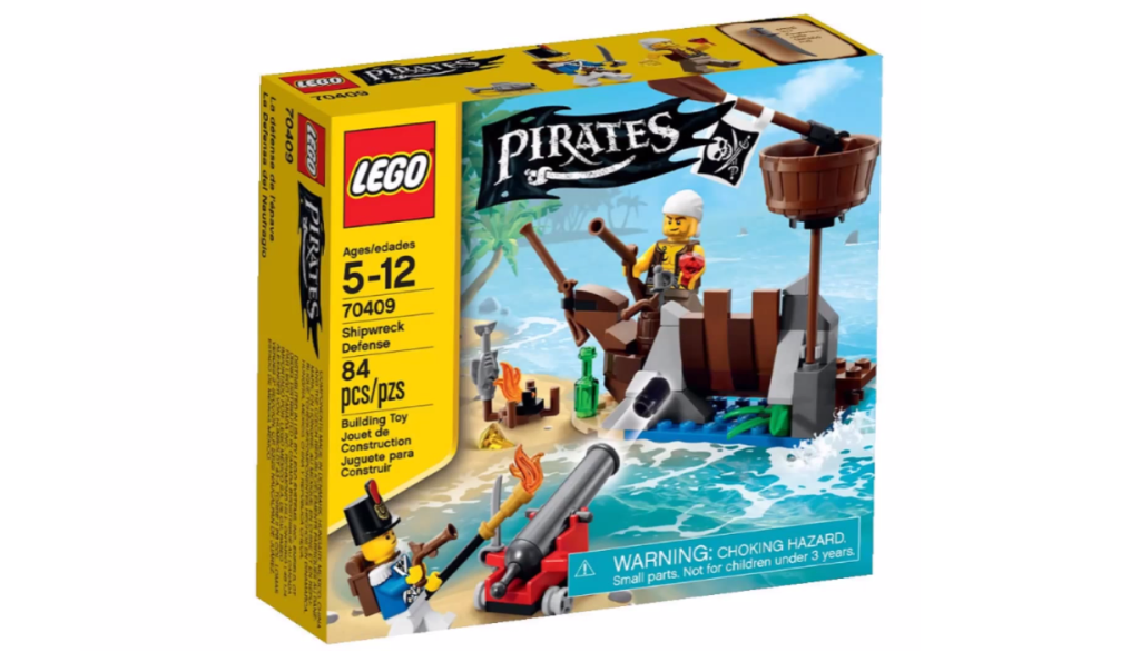 LEGO Pirates 70409 - Shipwreck Defence Box