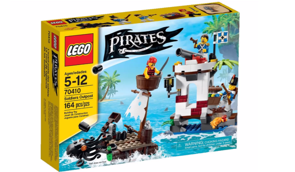 LEGO Pirates 70410 - Soldiers Outpost Box