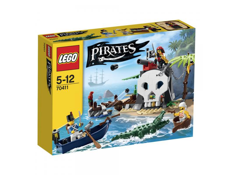 LEGO Pirates 70411 - Treasure Island Box