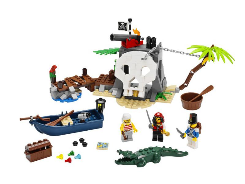 LEGO Pirates 70411 - Treasure Island