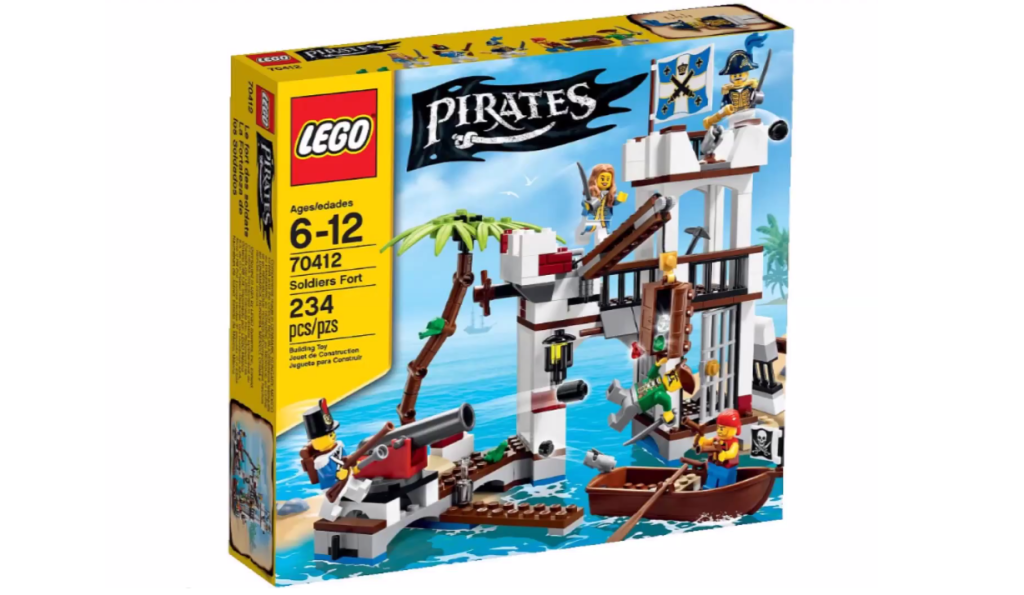 LEGO Pirates 70412 - Soldiers Fort Box
