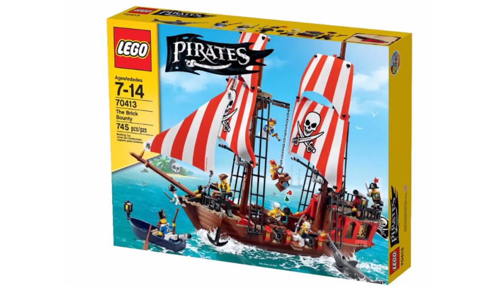 LEGO Pirates 70413 - The Brick Bounty Box