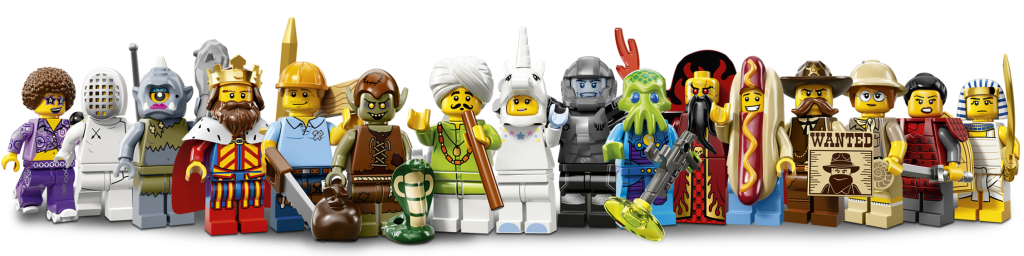 LEGO Series 13 Minifigures Characters
