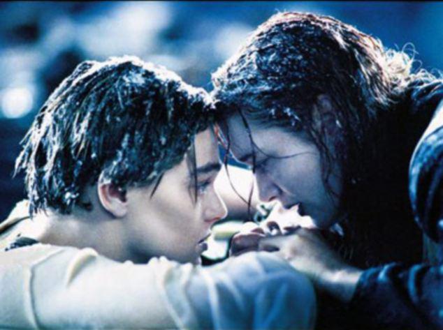 Leonardo DiCaprio Frozen Titanic