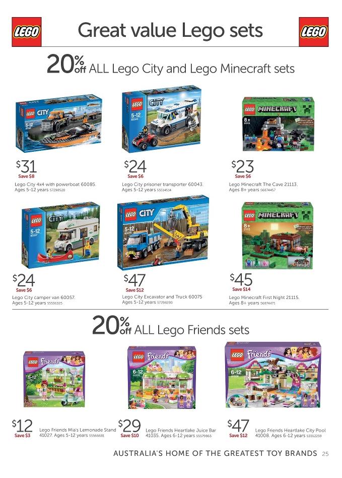 Target LEGO Sale January 2015