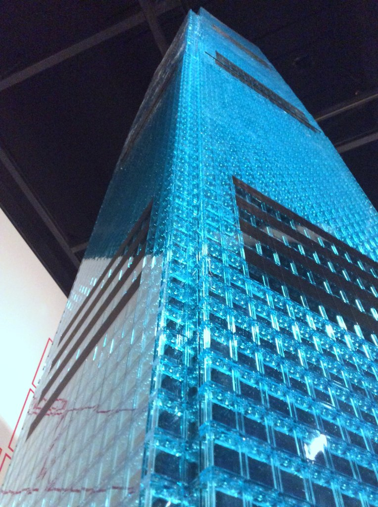 Towers of Tomorrow - International Commerce Centre Trans Blue