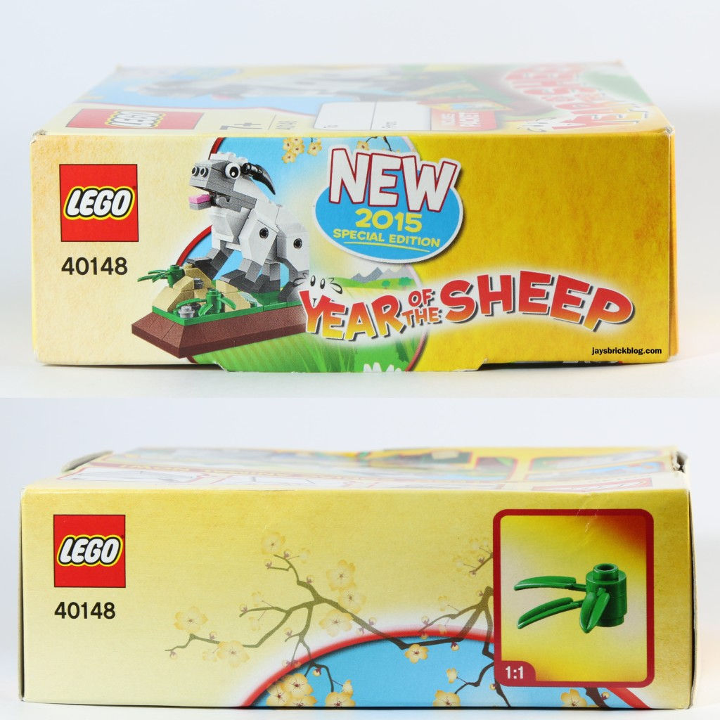 LEGO 40148 Lunar New Year 2015 Sheep - Box Details