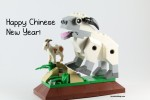 LEGO 40148 Lunar New Year 2015 Sheep - Happy Chinese New Year