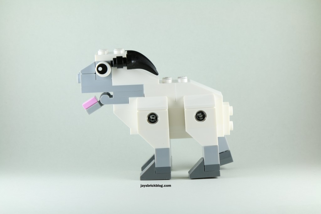 LEGO 40148 Lunar New Year 2015 Sheep - Sheep Side View
