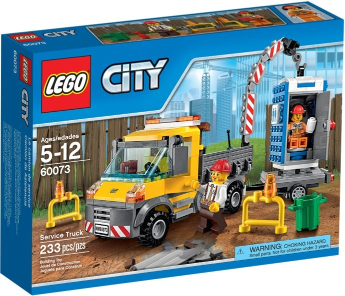 LEGO 60073 Service Truck - Box Art