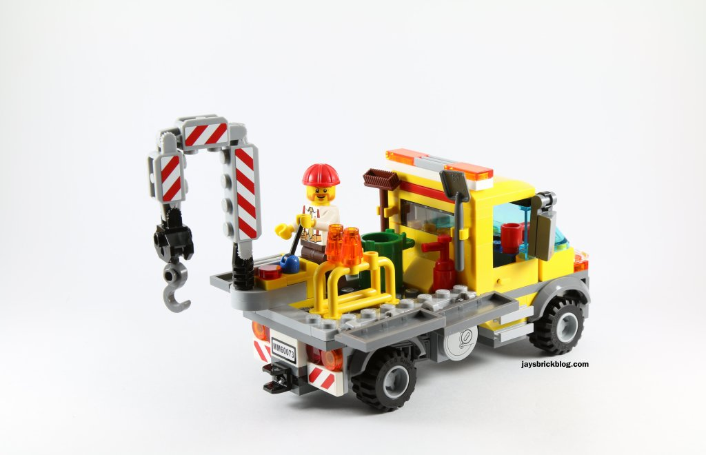 LEGO 60073 Service Truck - Crane in Action