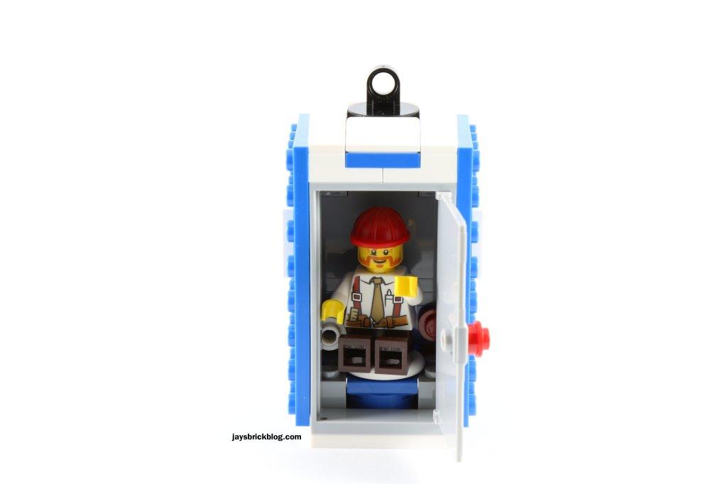 LEGO 60073 Service Truck - Driver inside toilet