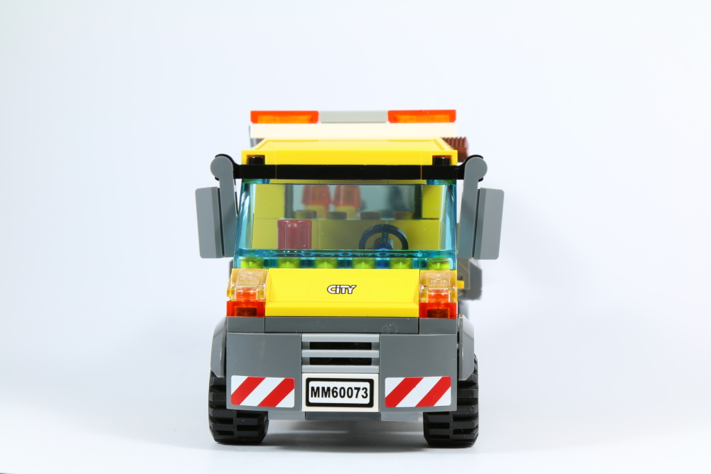 LEGO 60073 Service Truck - Front View