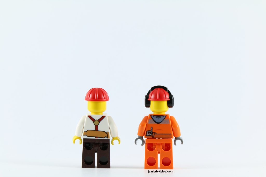 LEGO 60073 Service Truck - Minifigures Back