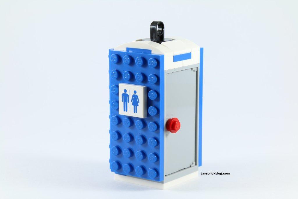 LEGO 60073 Service Truck - Portable Toilet