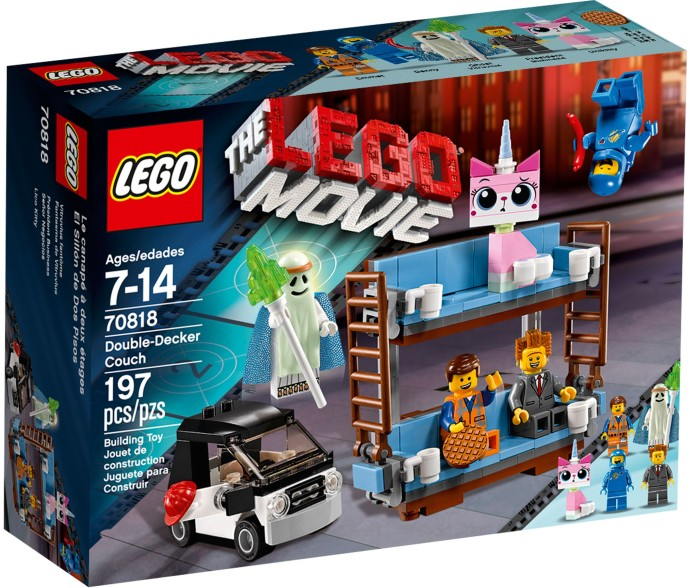 LEGO 70818 Double Decker Couch - Box Art