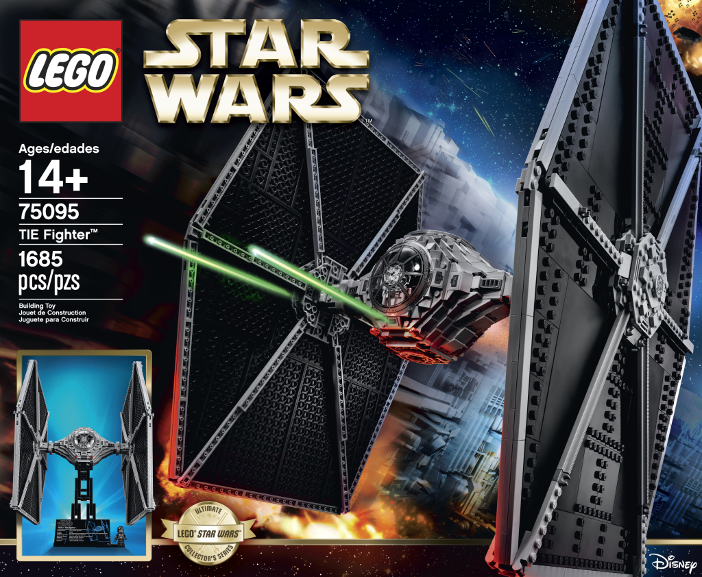 LEGO 75095 UCS Tie Fighter Box Art