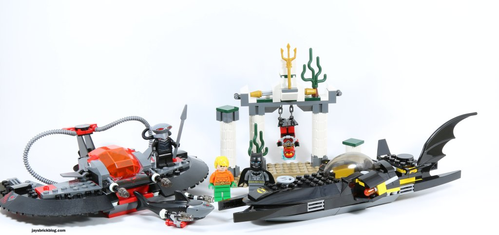 Review: LEGO 76027 Black Manta Deep Sea Strike