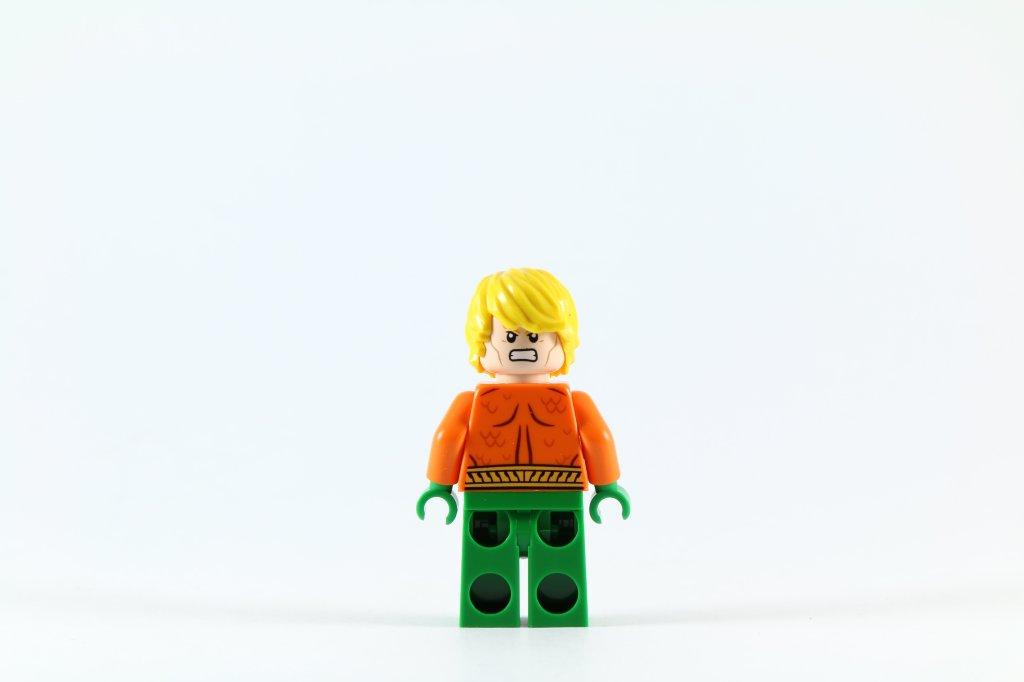 LEGO 76027 - Black Manta Deep Sea Strike - Aquaman Minifigure Back