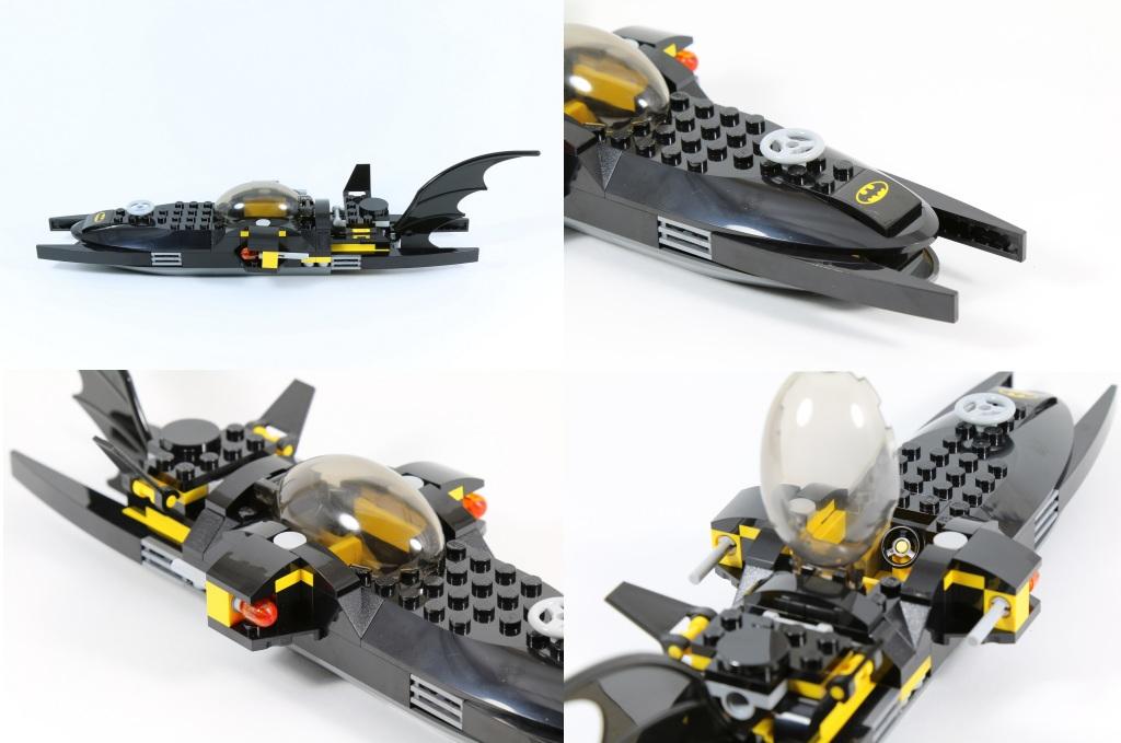 LEGO 76027 - Black Manta Deep Sea Strike - Bat Sub Different View