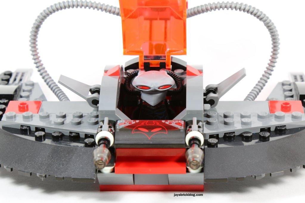 LEGO 76027 - Black Manta Deep Sea Strike - Black Manta Cockpit