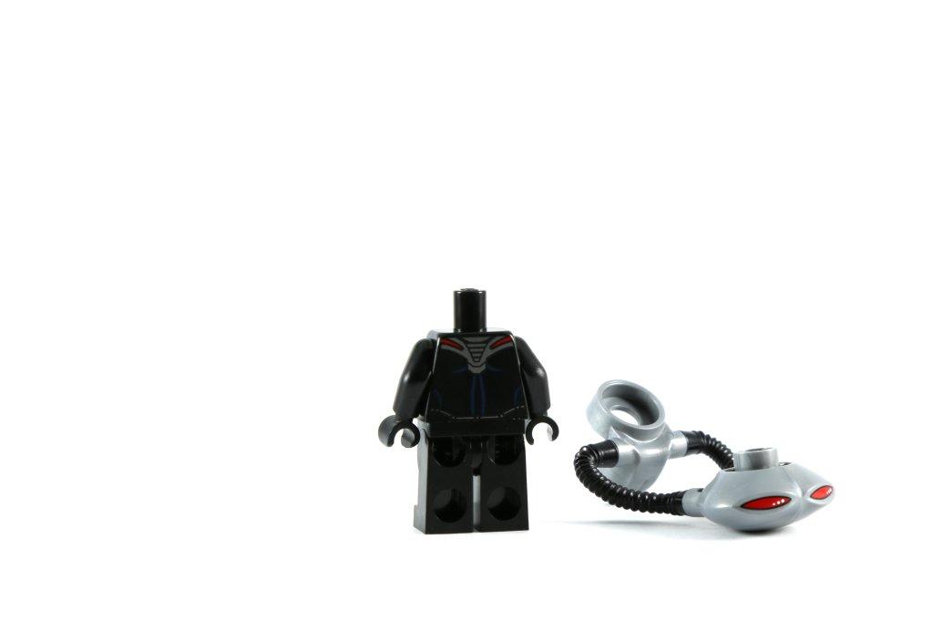 LEGO 76027 - Black Manta Deep Sea Strike - Black Manta Without Helmet