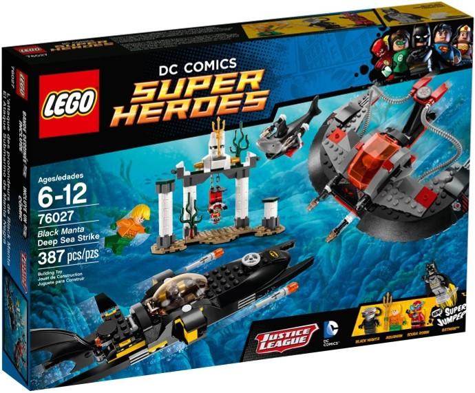 LEGO 76027 - Black Manta Deep Sea Strike - Box Art