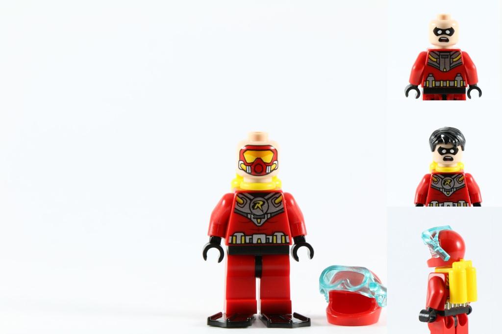 LEGO 76027 - Black Manta Deep Sea Strike - Scuba Robin Minifig
