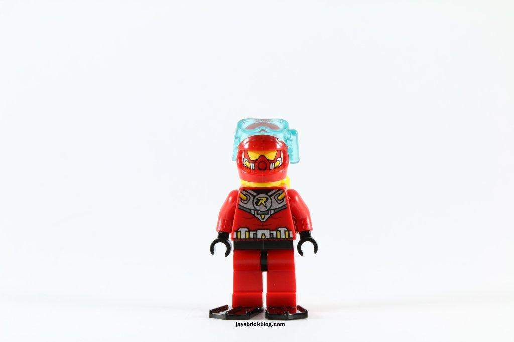 LEGO 76027 - Black Manta Deep Sea Strike - Scuba Robin Minifigure