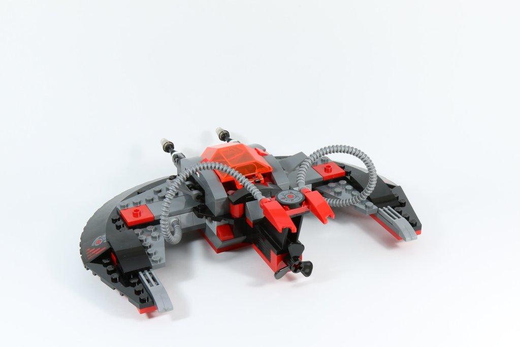 LEGO 76027 - Black Manta Deep Sea Strike - Sea Saucer Back View