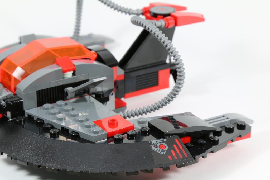 LEGO 76027 - Black Manta Deep Sea Strike - Sea Saucer Stickers