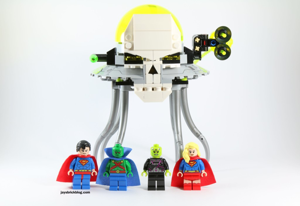Review: LEGO 76040 Brainiac Attack