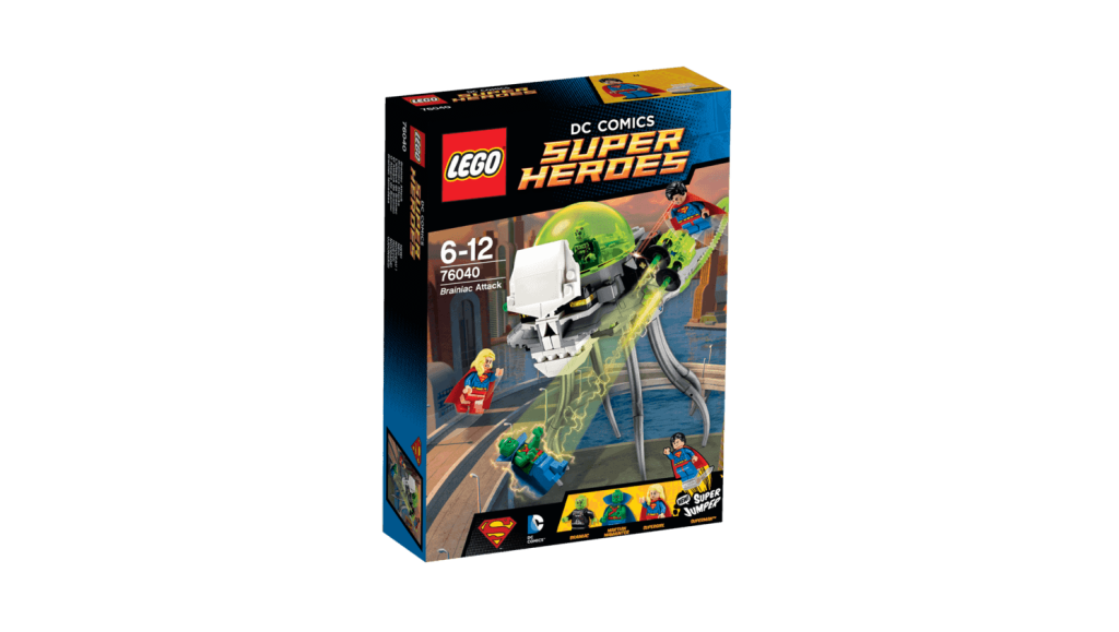 LEGO 76040 Brainiac Attack Box