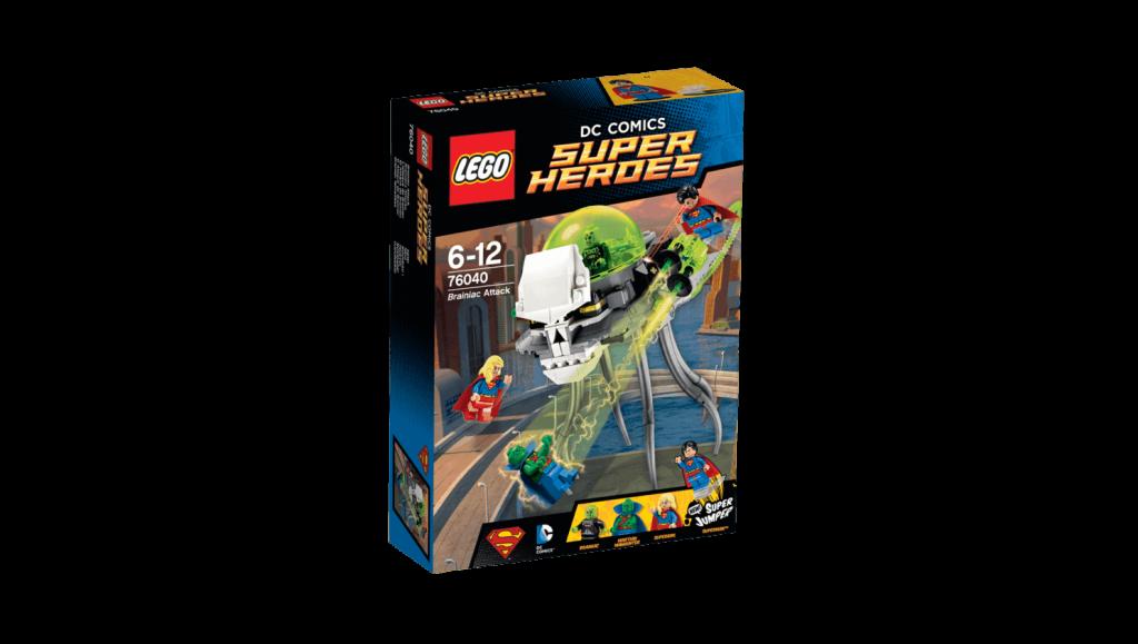 LEGO 76040 Brainiac Attack Box