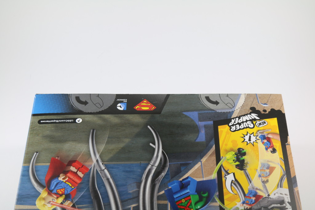 LEGO 76040 Brainiac Attack - Box Opening Flaps