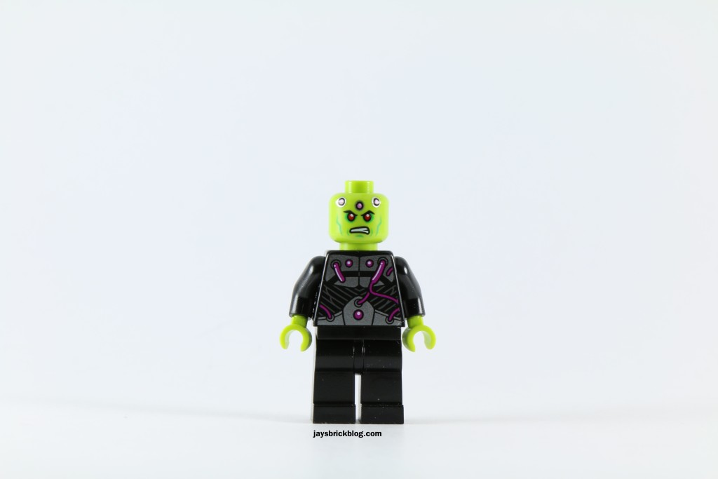 LEGO 76040 Brainiac Attack - Brainiac Minifigure