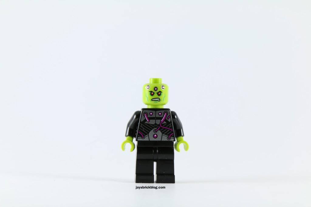 LEGO 76040 Brainiac Attack - Brainiac Minifigure