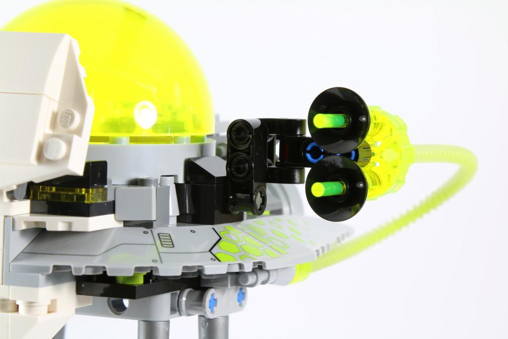 LEGO 76040 Brainiac Attack - Cannon Improvements