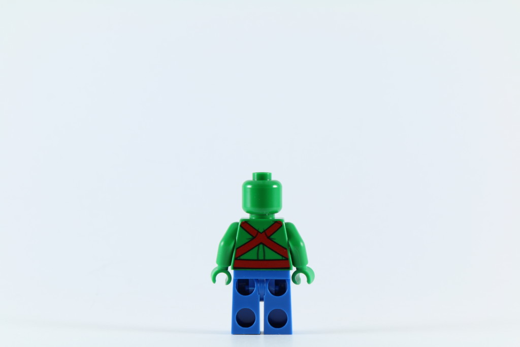LEGO 76040 Brainiac Attack - Martian Manhunter Back