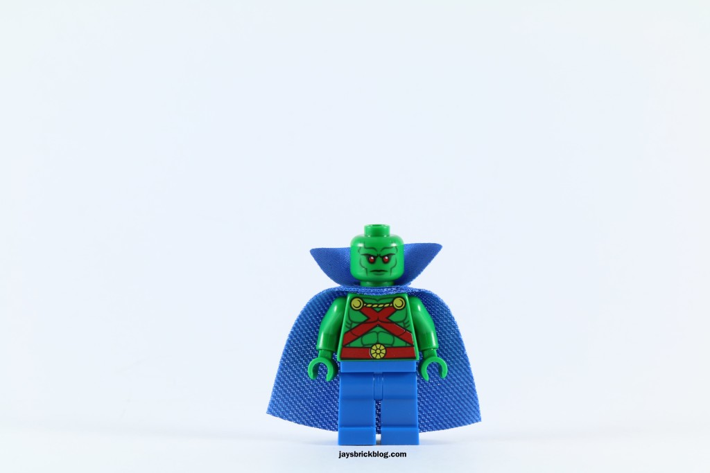 LEGO 76040 Brainiac Attack - Martian Manhunter Minifigure