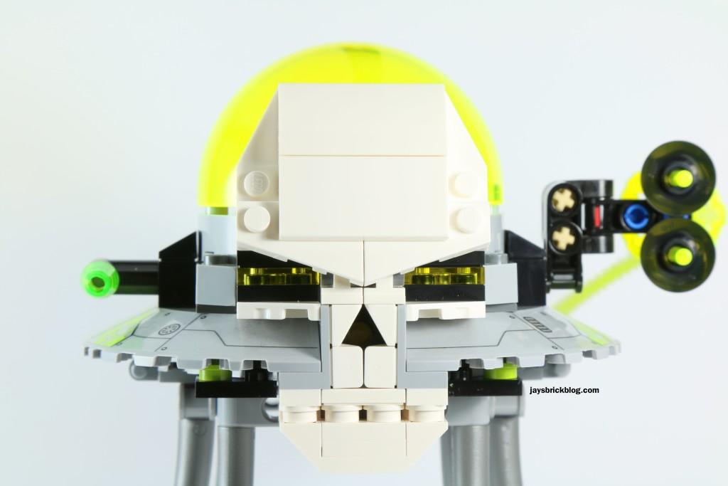 LEGO 76040 Brainiac Attack - Skull Ship