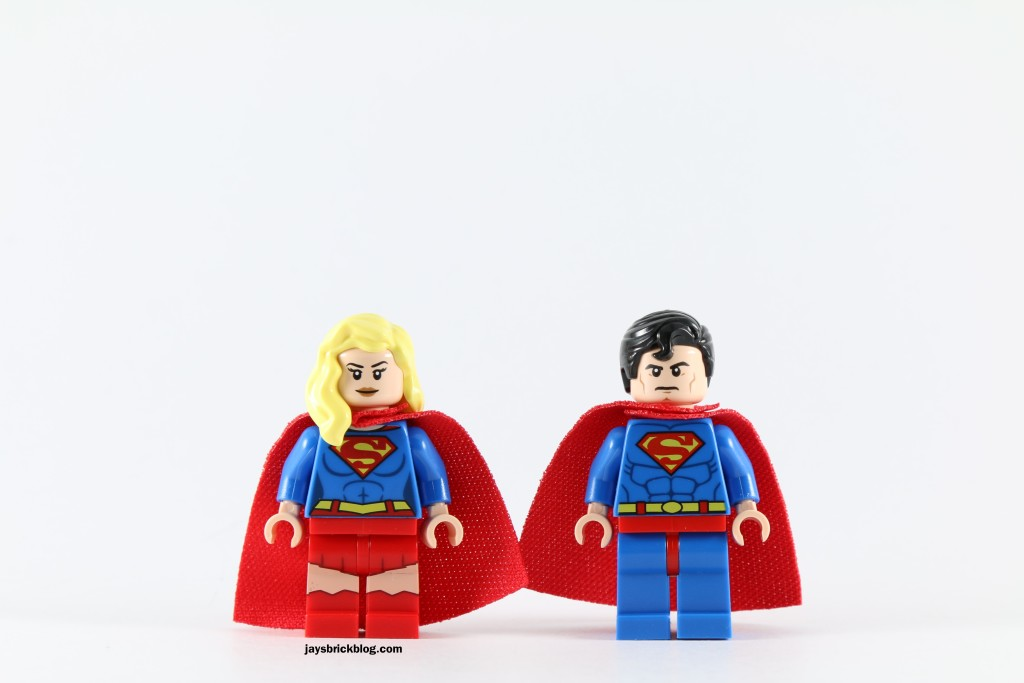 LEGO 76040 Brainiac Attack - Superman and Supergirl