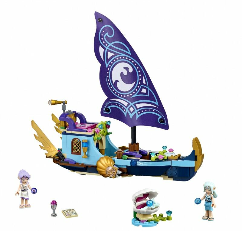 41073 Naida's Epic Adventure Ship 312 pcs